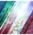 Abstract technology futuristic shiny lines backgro vector