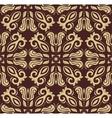 Geometric abstract seamless golden pattern vector