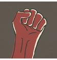 Fist symbol vector