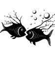Strange fish vector