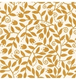 Textured wooden branches seamless pattern vector