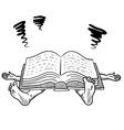 Doodle squish book study vector