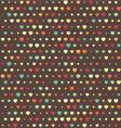 Polka dots hearth3380x400 vector