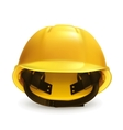 Hard hat icon vector