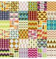 36 retro seamless patterns vector