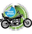 Motorbike vector