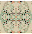 Hand drawn background with artistic pattern vector