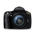 Digital reflex camera vector