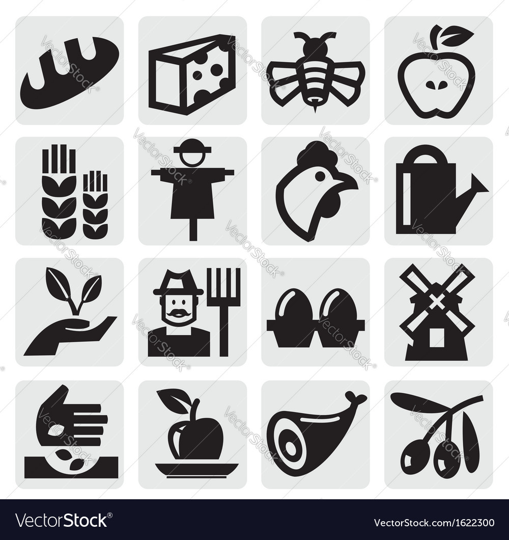 Farming set vector | Price: 1 Credit (USD $1)