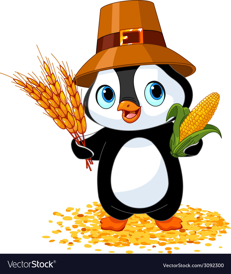 Penguin farmer vector | Price: 1 Credit (USD $1)