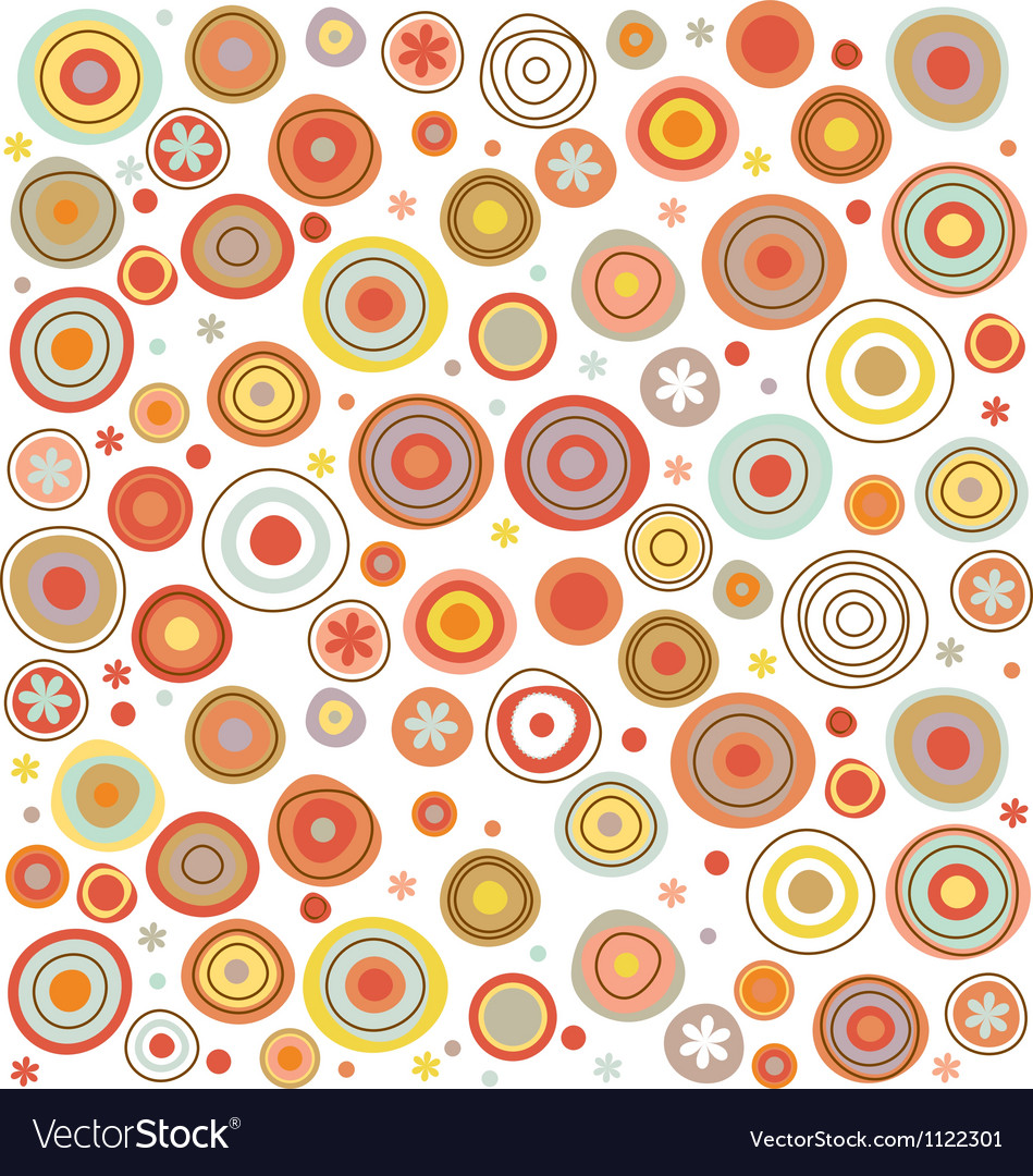 Circles pattern vector | Price: 1 Credit (USD $1)