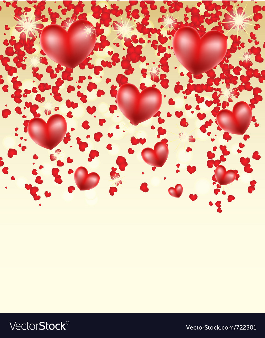 Creative hearts vector | Price: 1 Credit (USD $1)