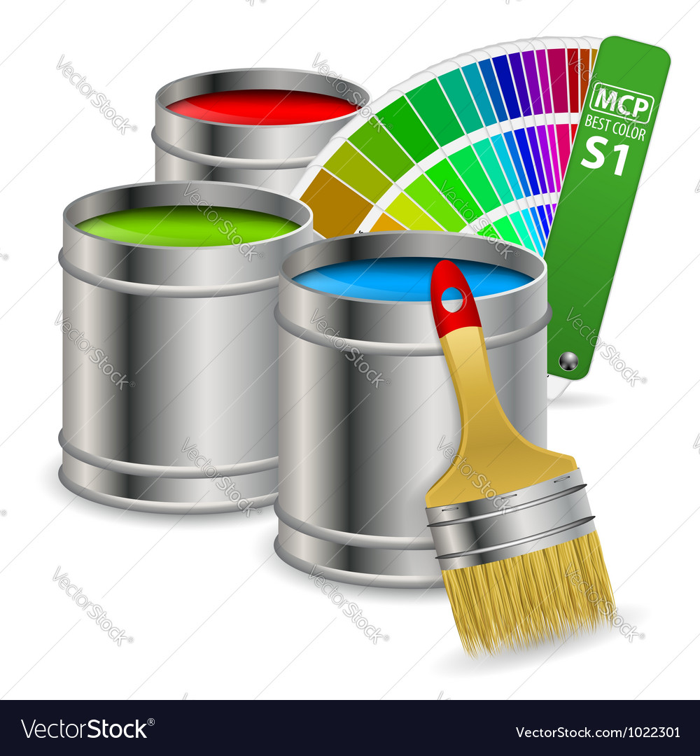 Paint concept vector | Price: 1 Credit (USD $1)
