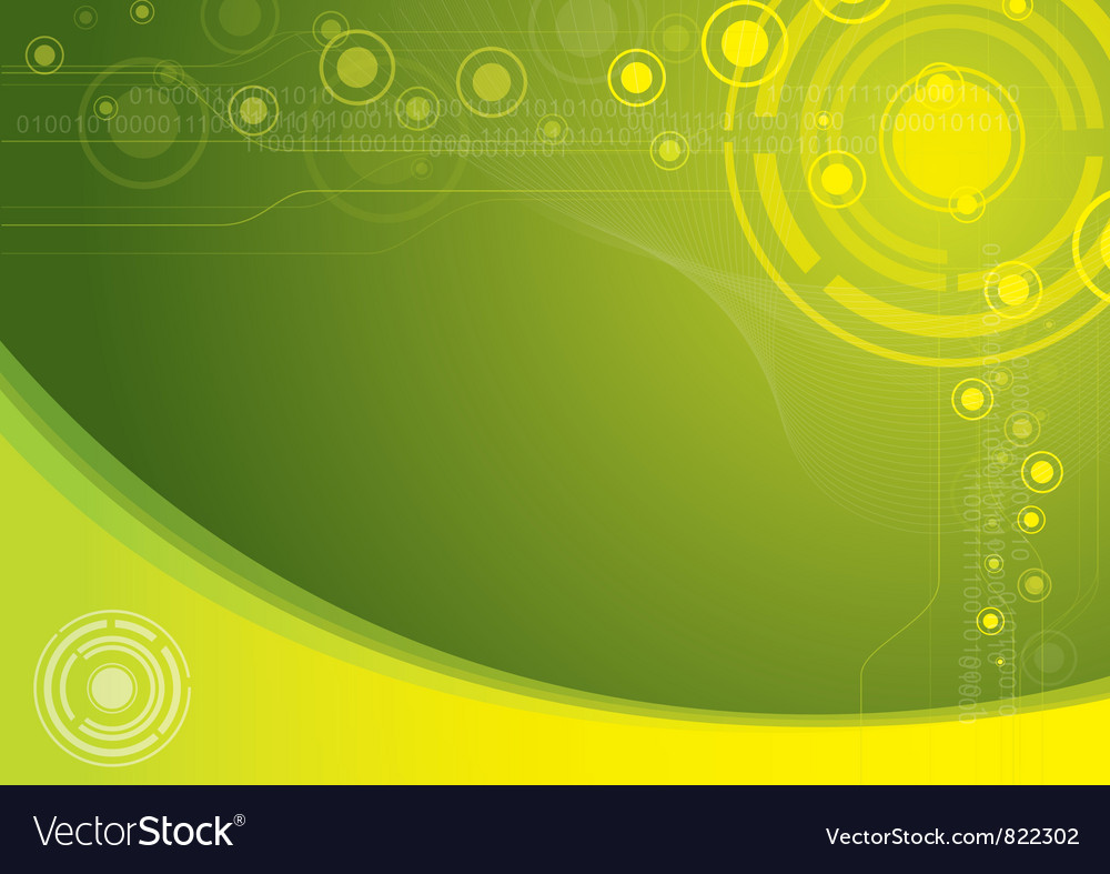 Green tech abstract background vector | Price: 1 Credit (USD $1)