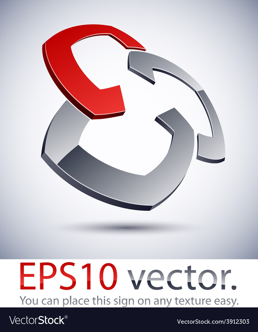 3d modern logo pattern vector   Price: 1 Credit (USD $1)