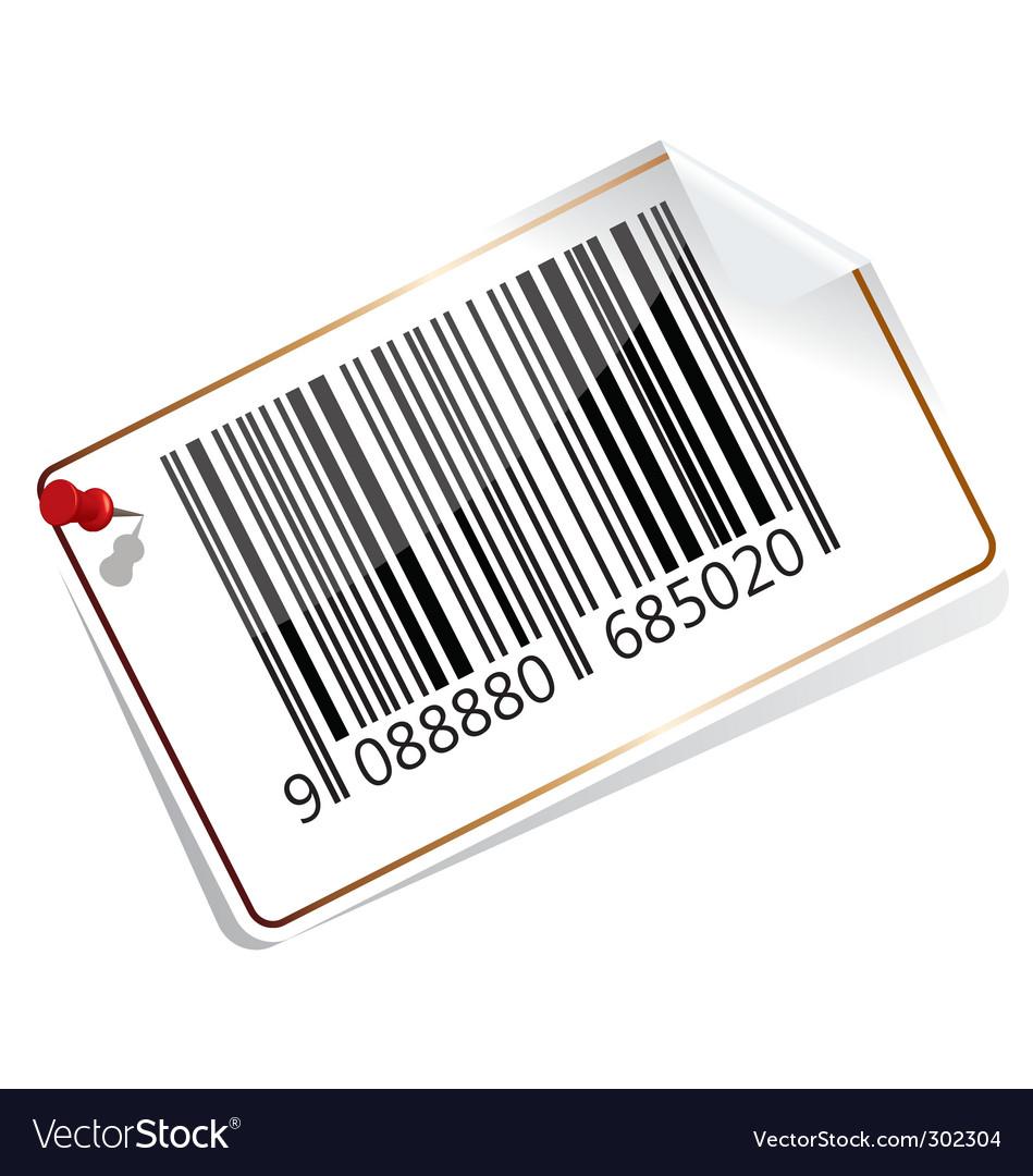 Bar code tag vector   Price: 1 Credit (USD $1)