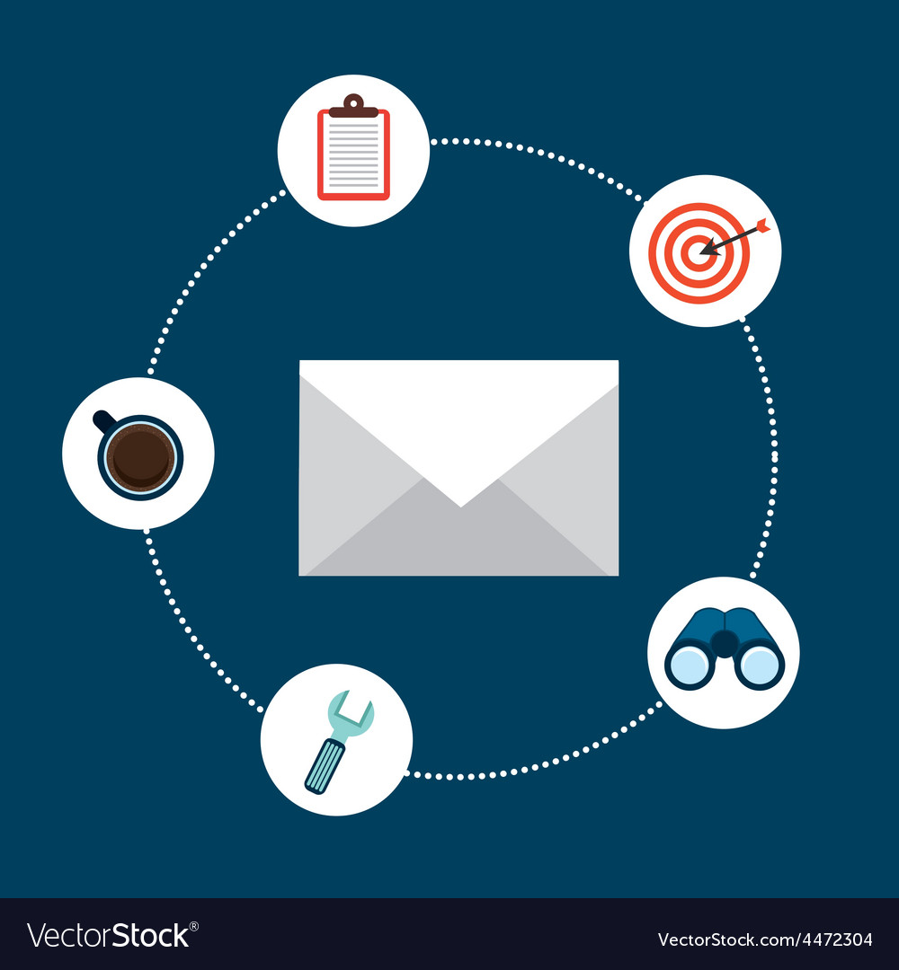 Email concept vector   Price: 1 Credit (USD $1)