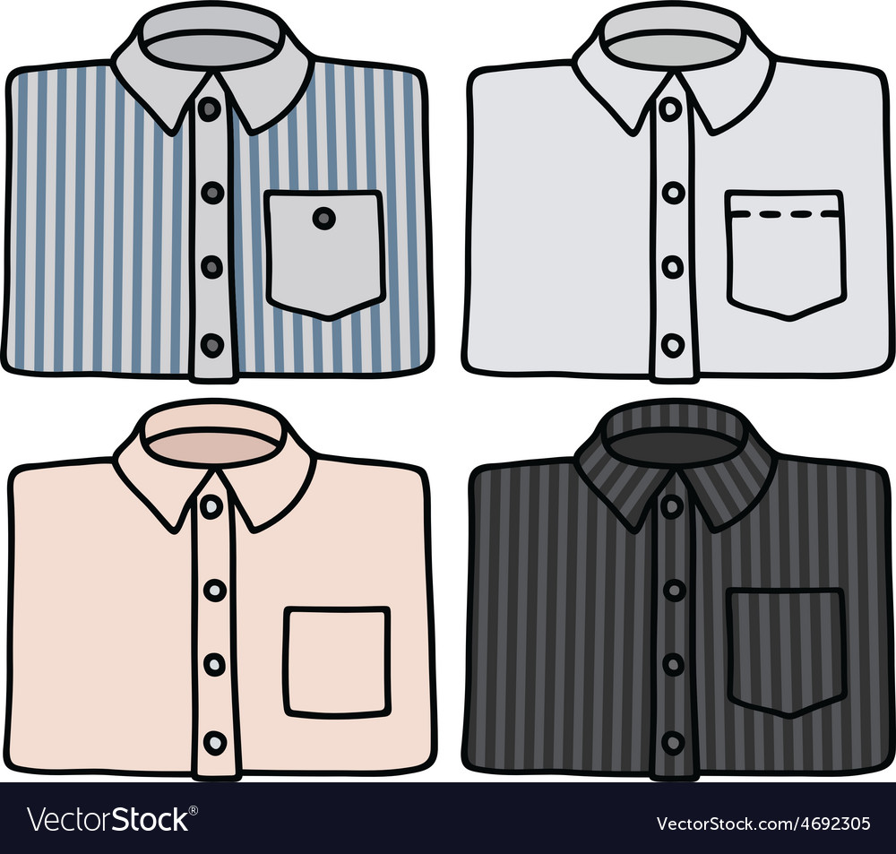 Classic shirts vector   Price: 1 Credit (USD $1)