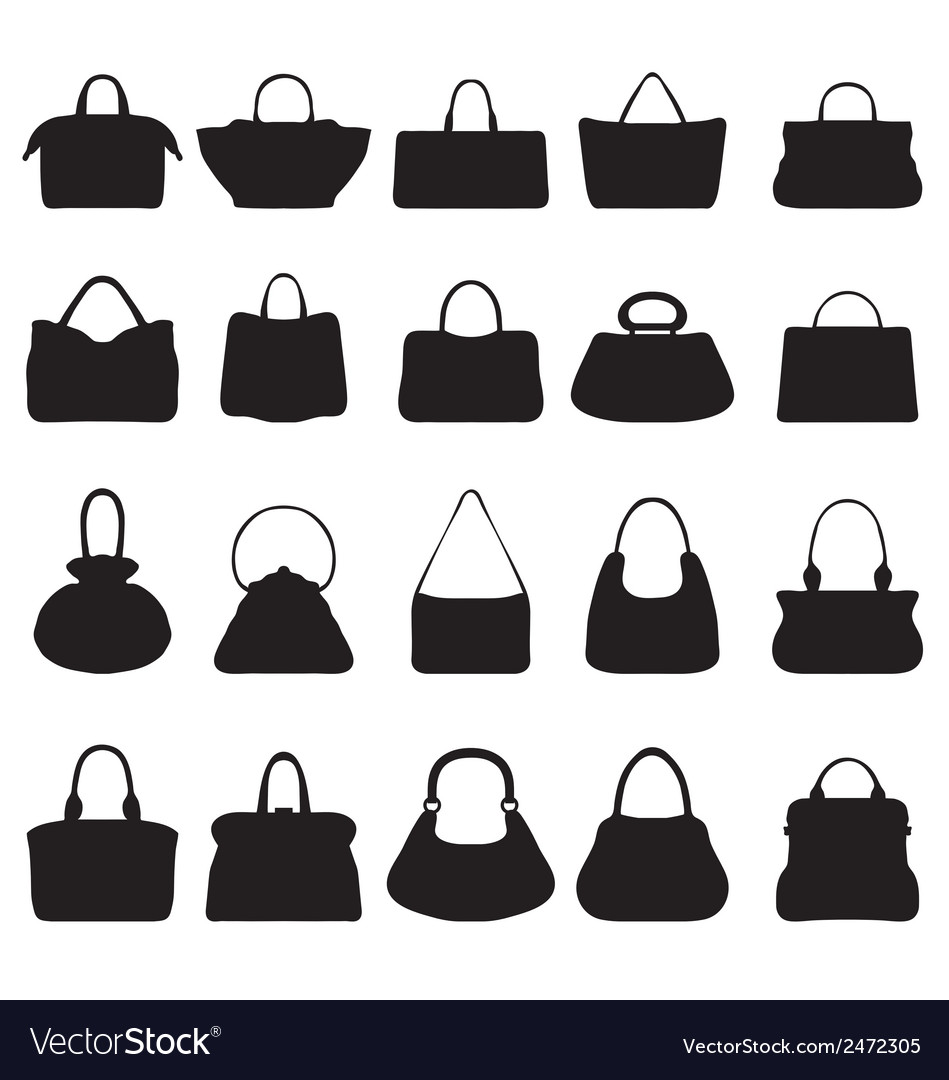 Handbags 2 vector   Price: 1 Credit (USD $1)