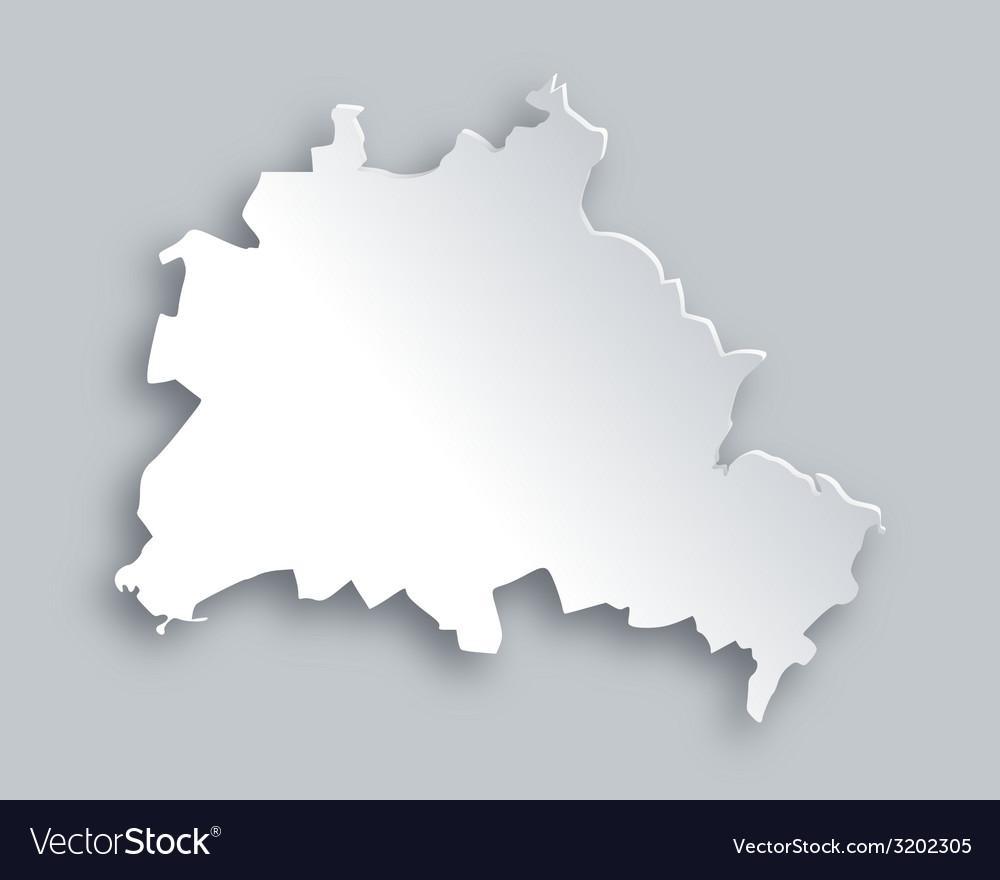Map of berlin vector | Price: 1 Credit (USD $1)