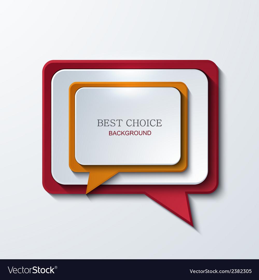 Modern bubble speech icons set vector | Price: 1 Credit (USD $1)