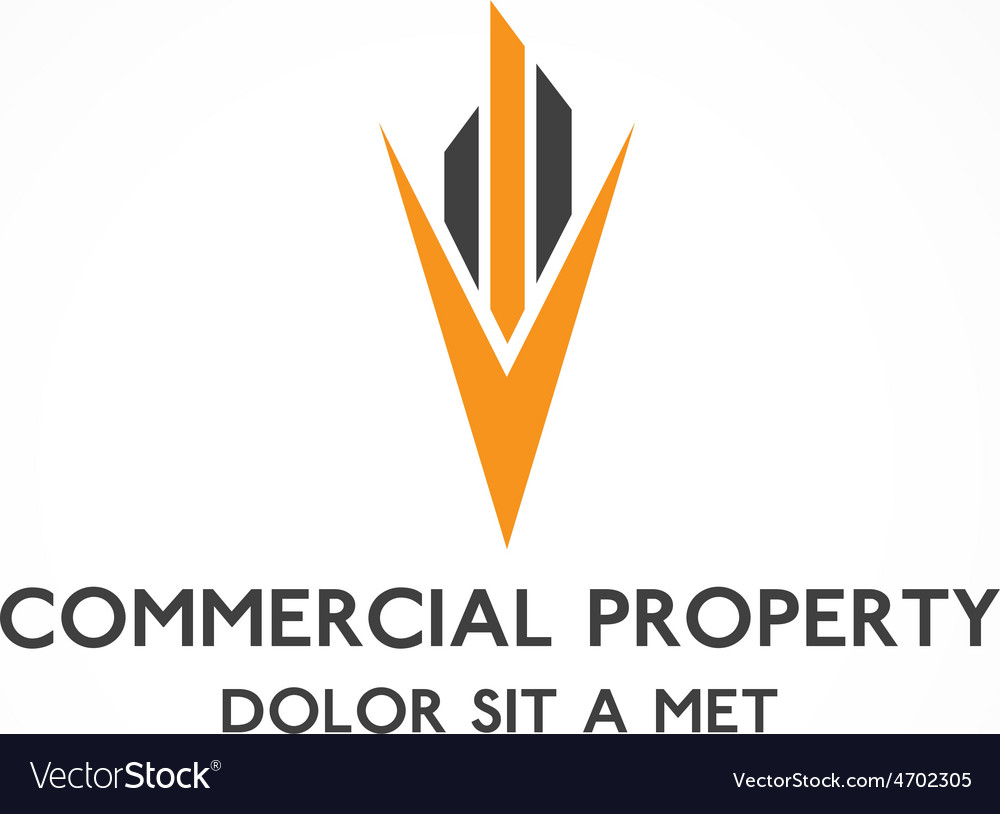 Real estate commercial property design template vector | Price: 1 Credit (USD $1)
