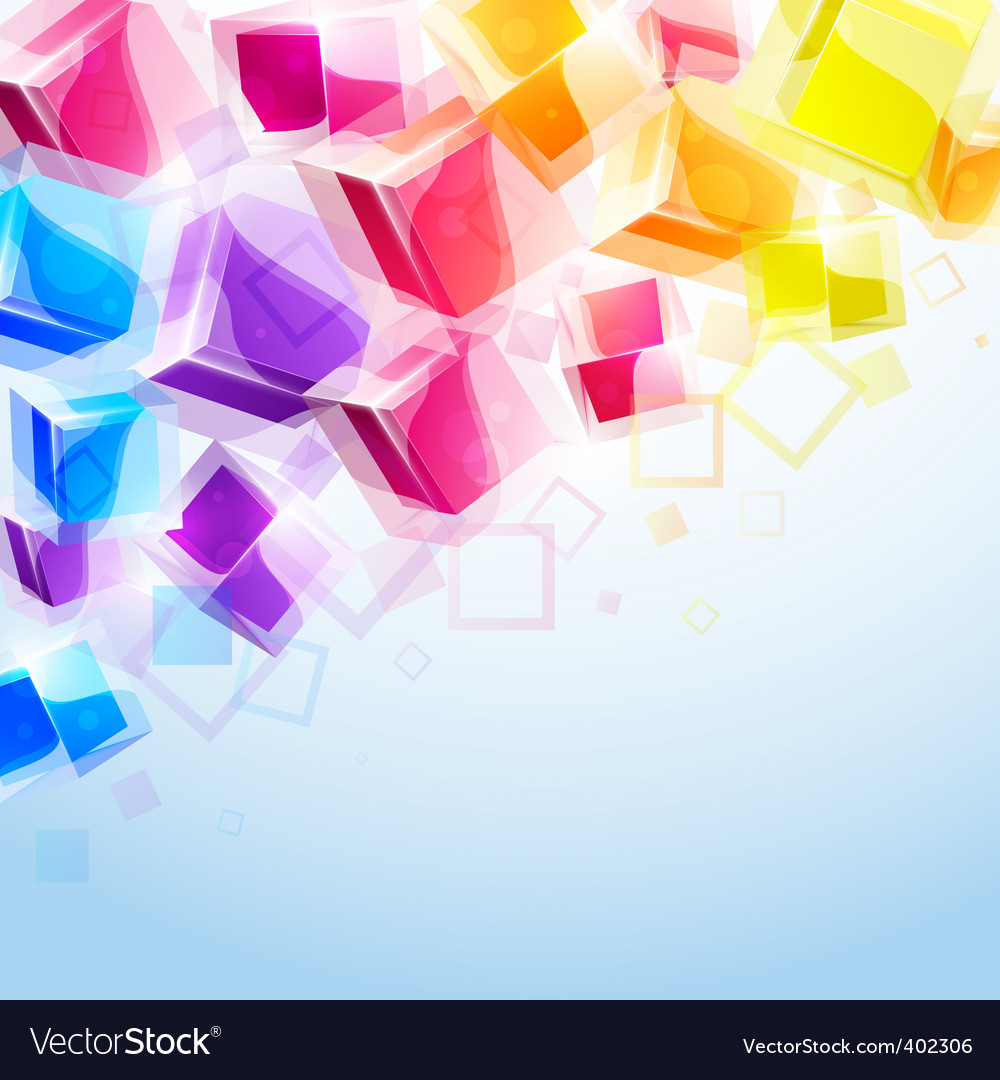 3d bright abstract background vector | Price: 1 Credit (USD $1)