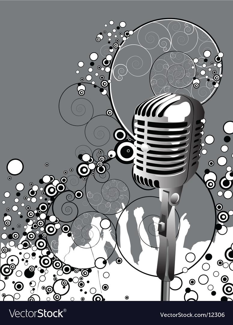 Microphone mc vector | Price: 1 Credit (USD $1)