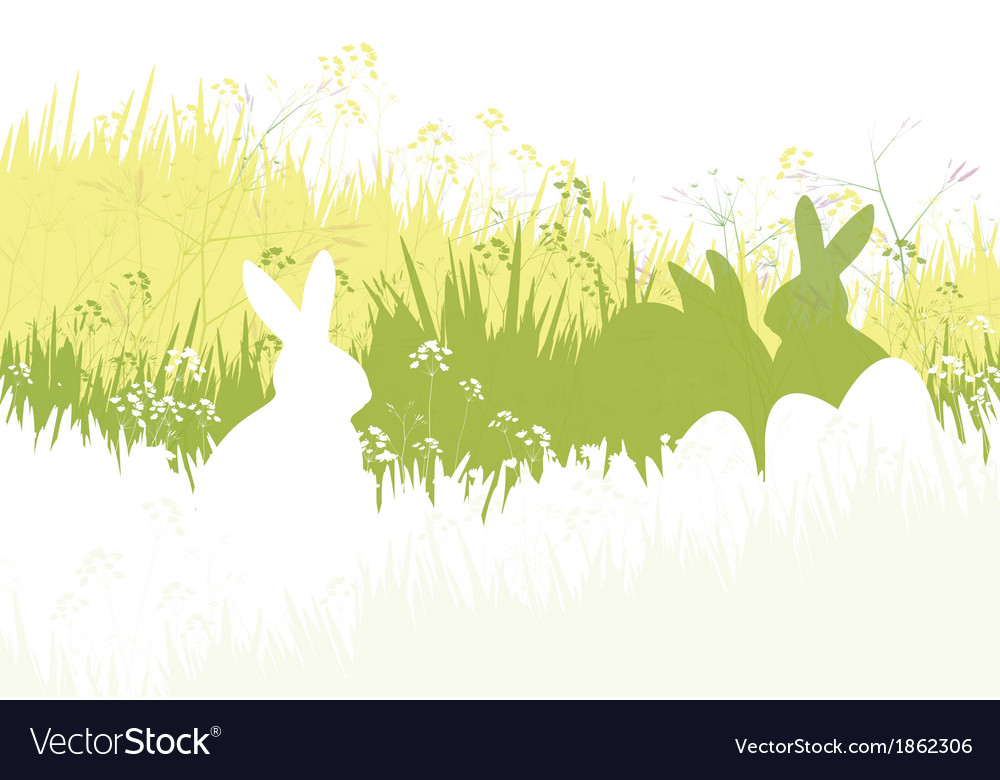 Spring easter background vector | Price: 1 Credit (USD $1)