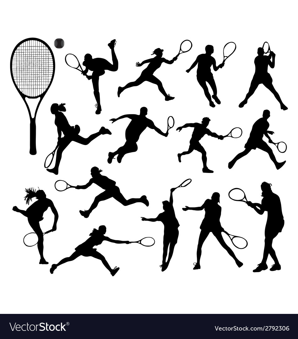 Tennis 3 vector | Price: 1 Credit (USD $1)