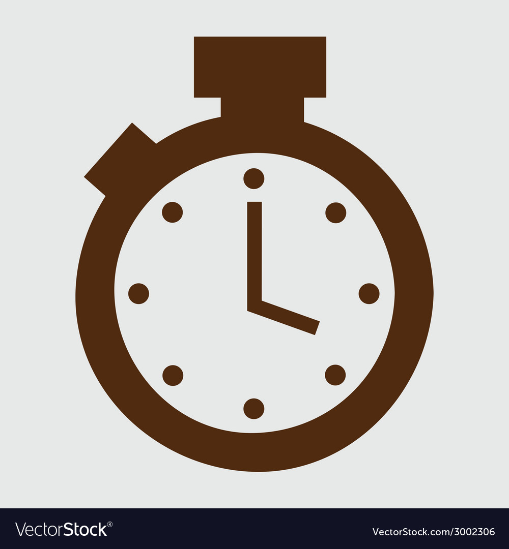 Timer design vector | Price: 1 Credit (USD $1)