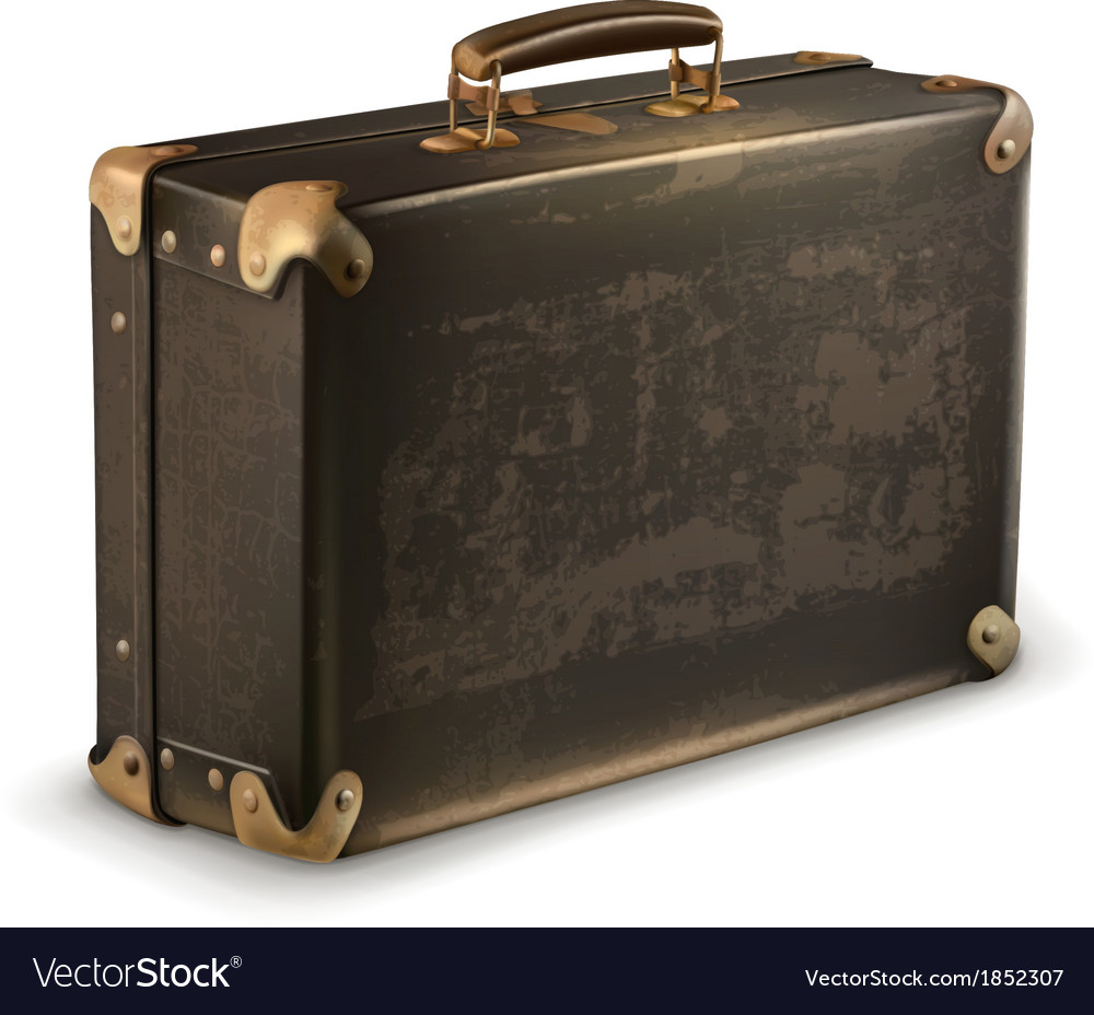 Old suitcase vector | Price: 3 Credit (USD $3)