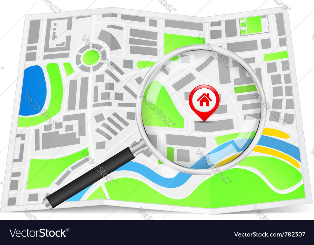 Search for house concept vector   Price: 3 Credit (USD $3)