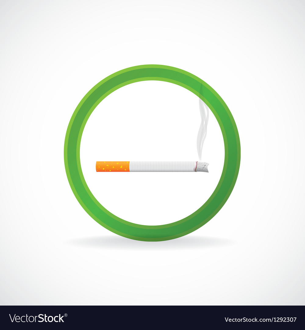 Smoking allowed vector | Price: 1 Credit (USD $1)