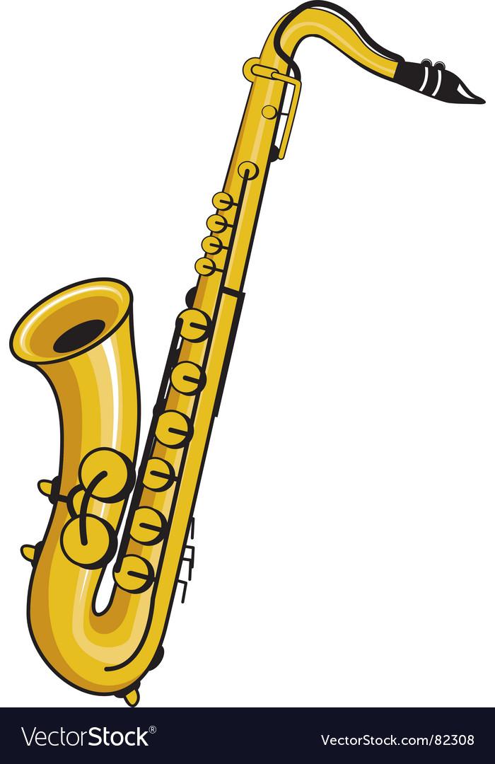 Saxophone vector | Price: 1 Credit (USD $1)