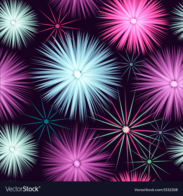 Star seamless beautiful pattern vector | Price: 1 Credit (USD $1)