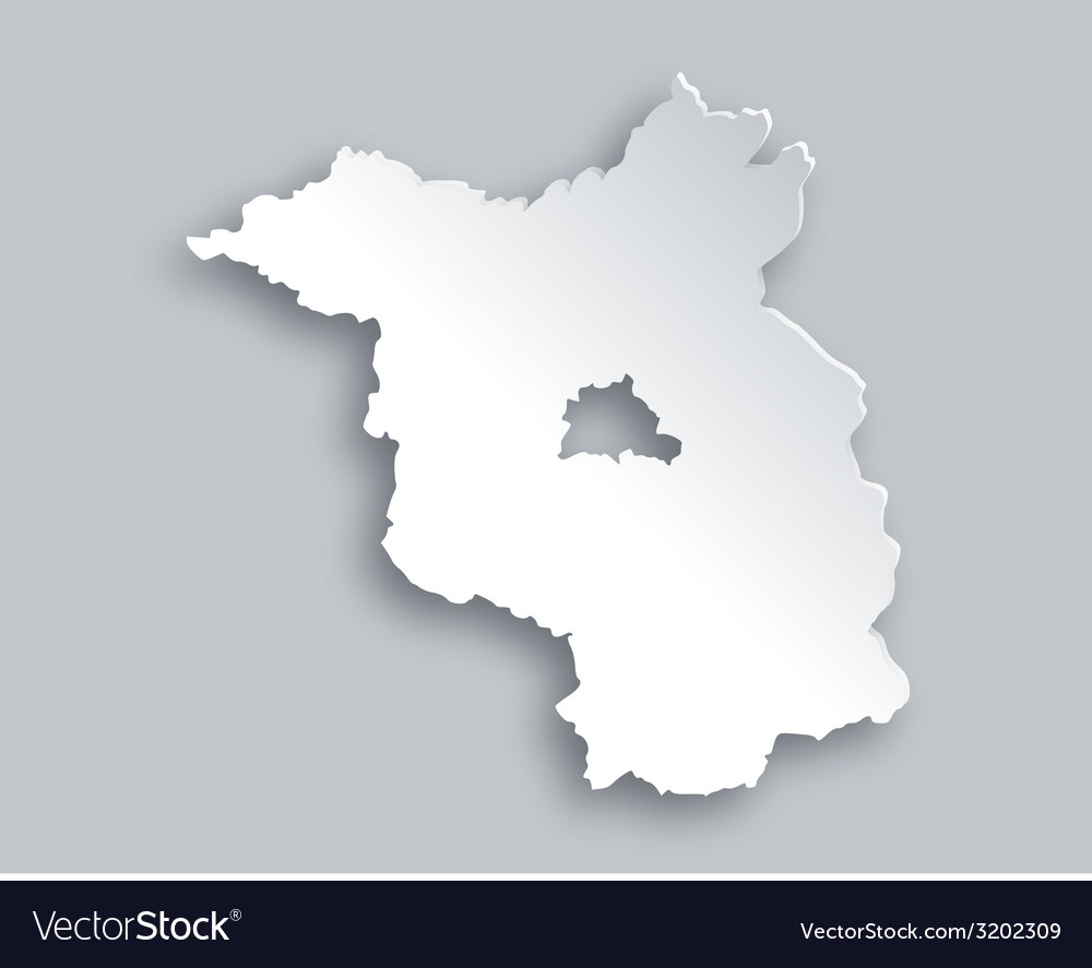 Map of brandenburg vector | Price: 1 Credit (USD $1)