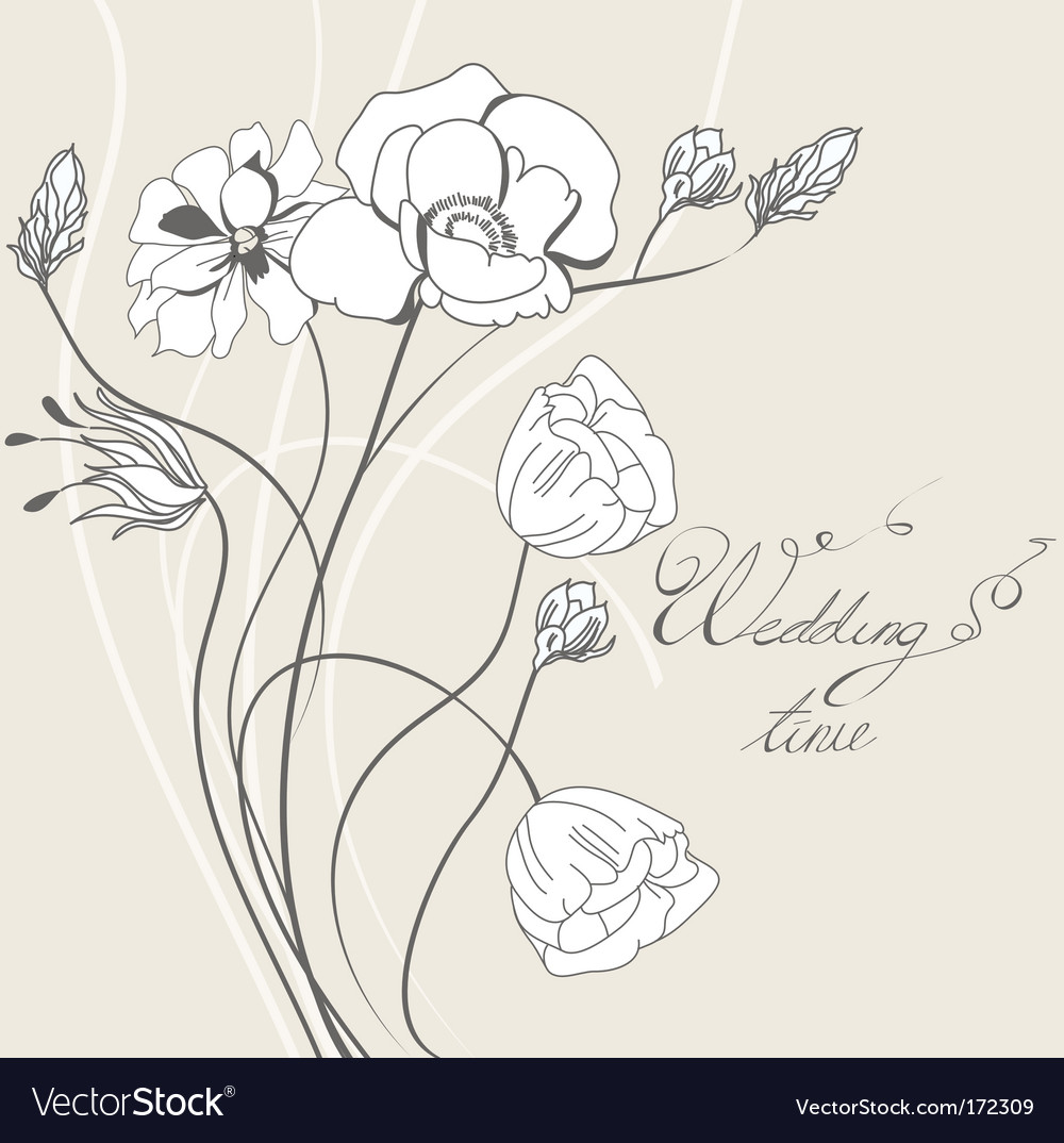 Template for wedding invitation vector   Price: 1 Credit (USD $1)
