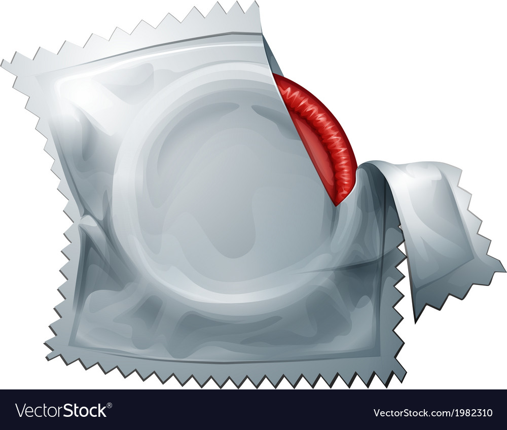 A red condom vector | Price: 1 Credit (USD $1)
