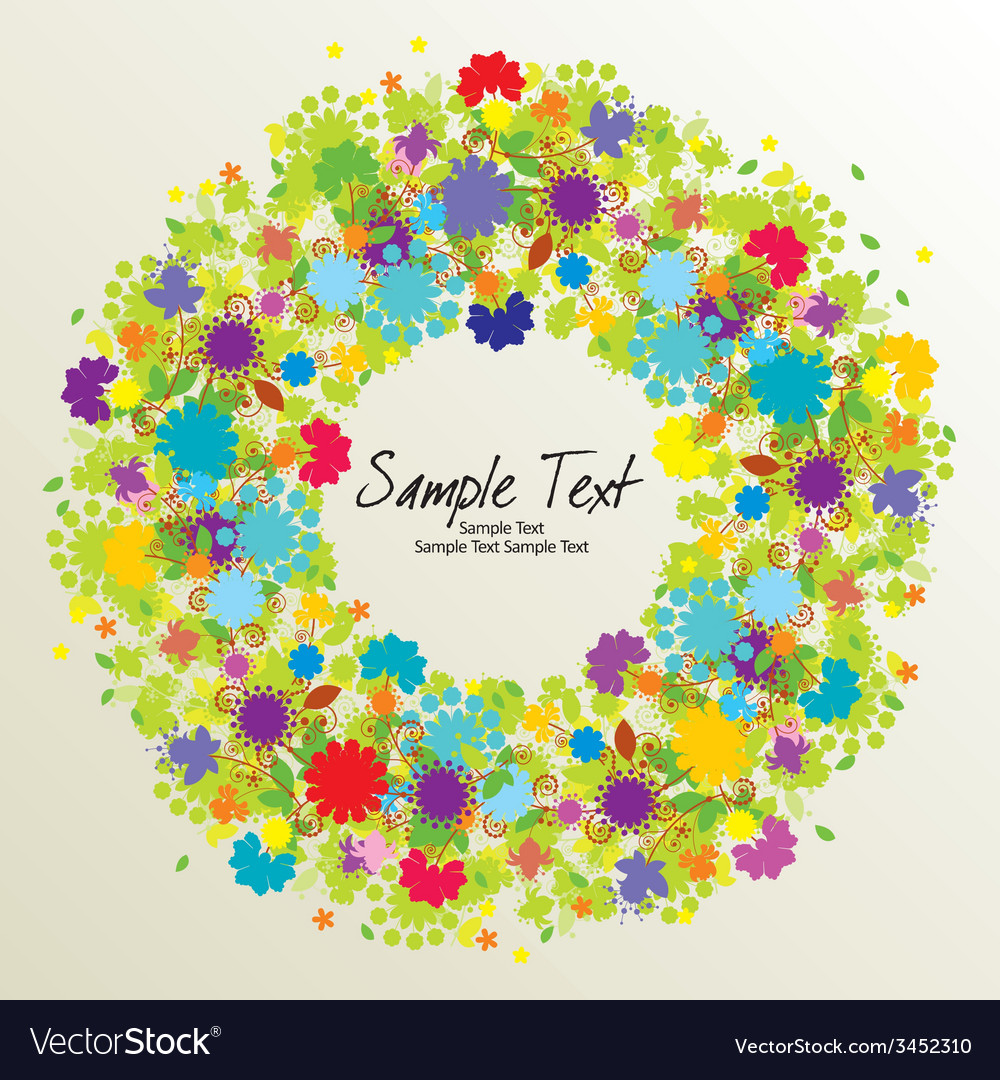 Floral line10 01 05 vector | Price: 1 Credit (USD $1)