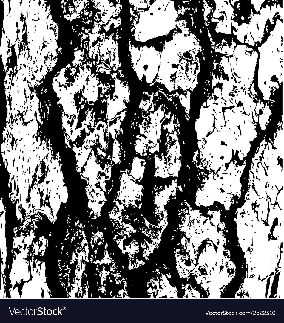 Tree bark texture grungemap vector | Price: 1 Credit (USD $1)