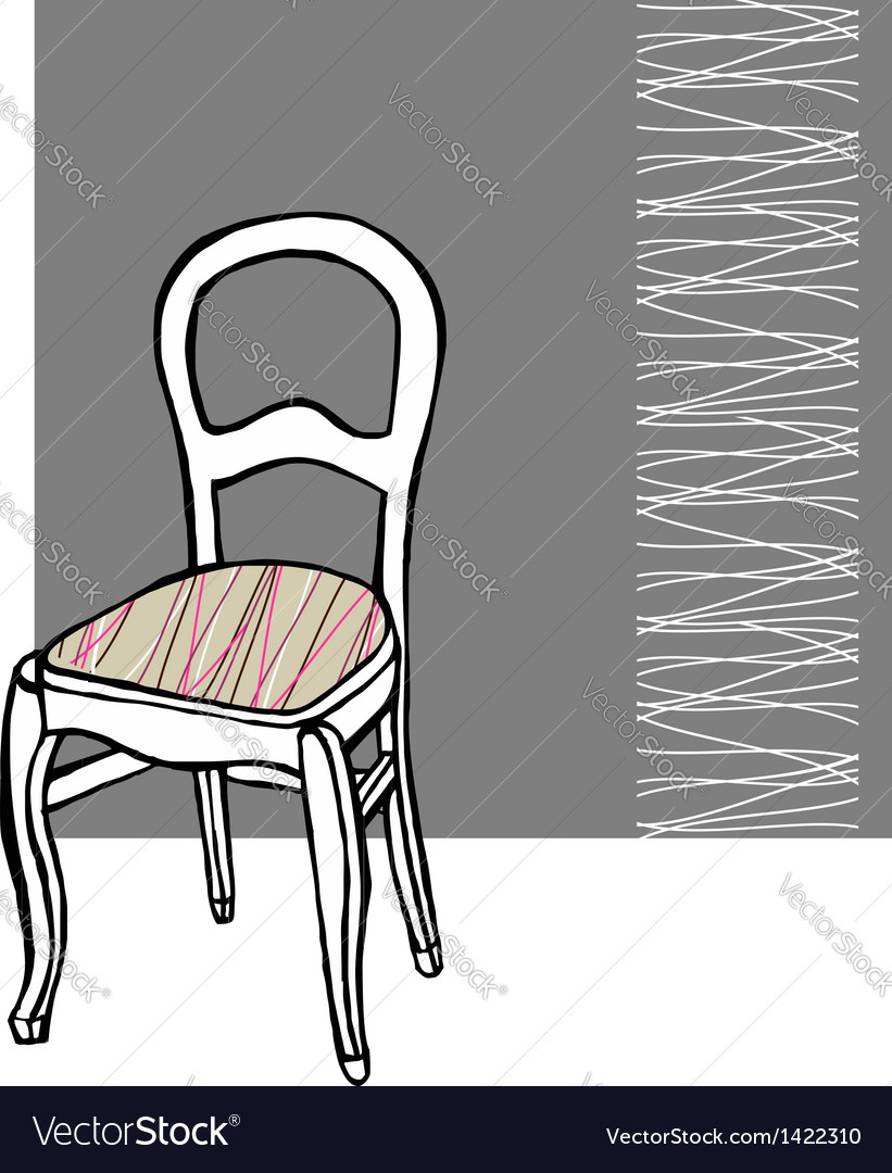 Upholstered chair vector | Price: 1 Credit (USD $1)