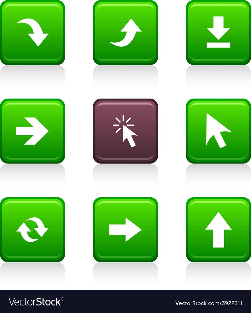 Arrows icons vector | Price: 1 Credit (USD $1)