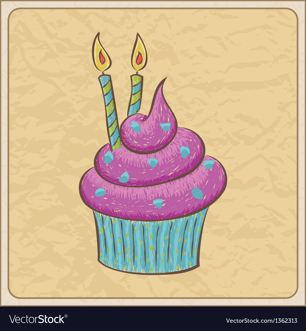 Cupcakes04 vector | Price: 1 Credit (USD $1)