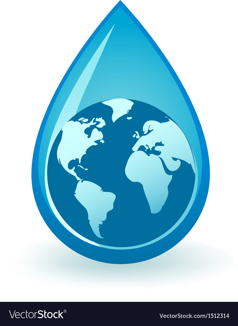 World water vector | Price: 1 Credit (USD $1)