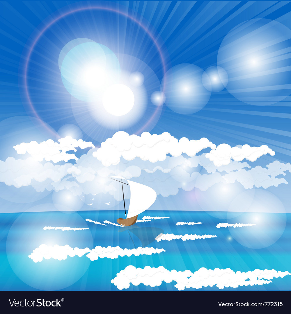 Sea going liner vector | Price: 3 Credit (USD $3)