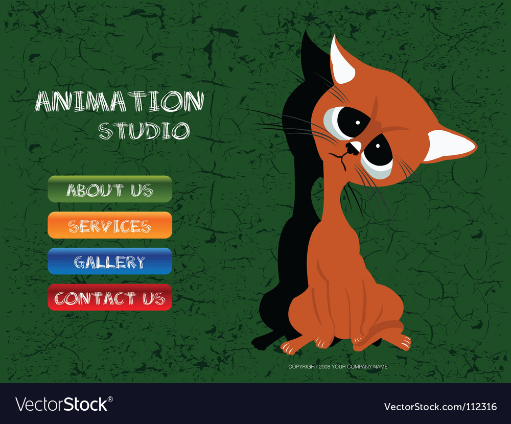 Animation studio vector | Price: 1 Credit (USD $1)