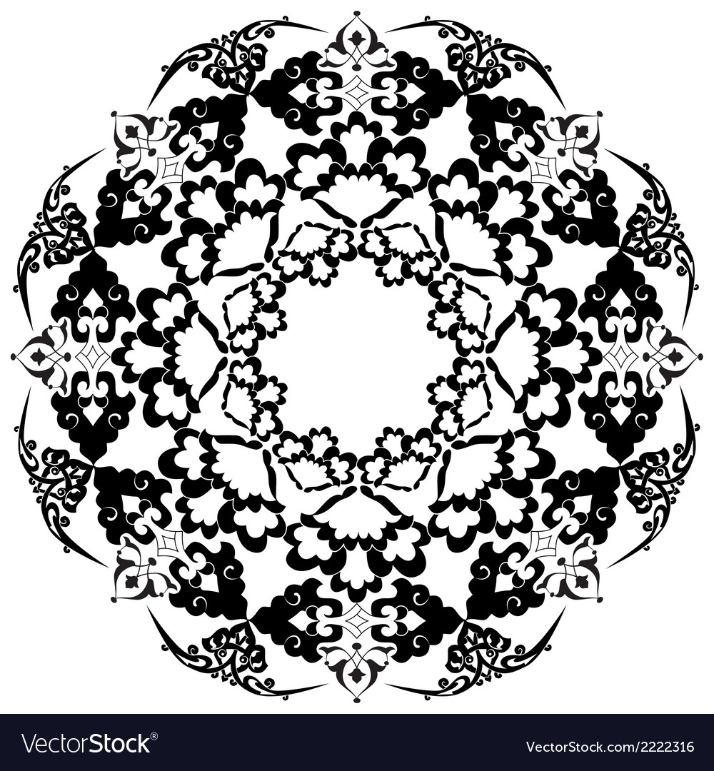 Ottoman motifs design series with thirty five vector | Price: 1 Credit (USD $1)