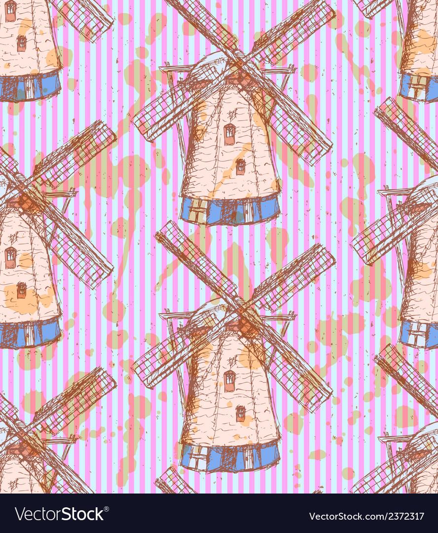 Wind mill vector | Price: 1 Credit (USD $1)