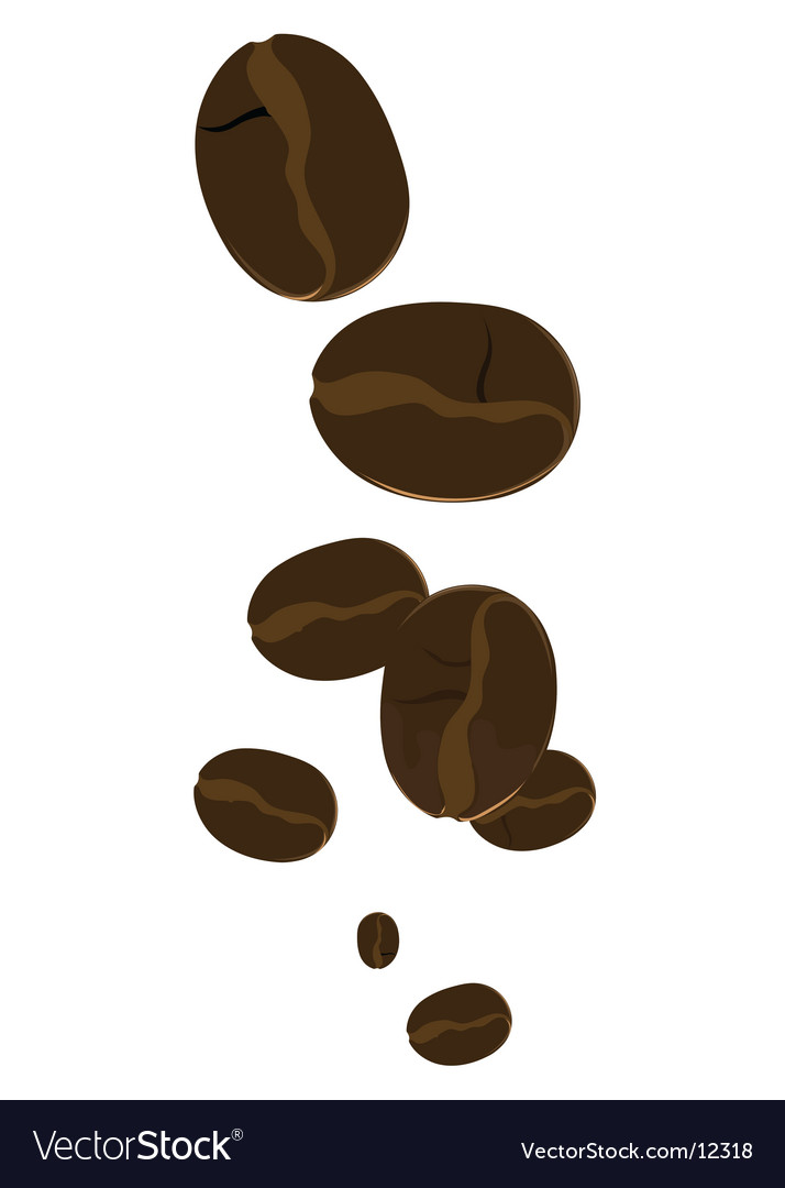 Coffee beans vector | Price: 1 Credit (USD $1)